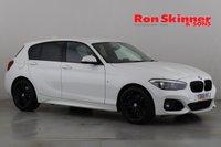USED 2018 68 BMW 1 SERIES 1.5 118I M SPORT SHADOW EDITION 5d 134 BHP