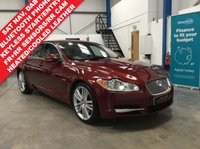 """USED 2010 60 JAGUAR XF 3.0 V6 PORTFOLIO 4d 240 BHP Satellite Navigation, Heated and Cooled Leather Seats, Electric Front Seats with Driver Memory, Bluetooth Phone, Front and Rear Park Sensors, Rear Camera, Auto lights and Wipers, Keyless Start and Entry, Dual Zone Climate Control, Power Folding Mirrors, 20"""" Alloys"""