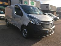 USED 2015 15 VAUXHALL VIVARO 1.6 2700 L1H1 CDTI L1 H1 ECOFLEX 89 BHP FSH, A/C, P/SENSORS, BLUETOOTH, 6 MONTHS WARRANTY & FINANCE ARRANGED. Full service history - 3 Vauxhall Main Agent Service's - Last service 01/03/2019 @ 69,494 miles, A/C, E/W, Bluetooth, media connectivity, Radio, rear parking sensors, Drivers airbag, factory fitted bulk head, Side loading door, 1 Owner, remote Central Locking, Drivers Airbag, racking (can be removed), 6 months premium Autoguard warranty & finance arranged on site