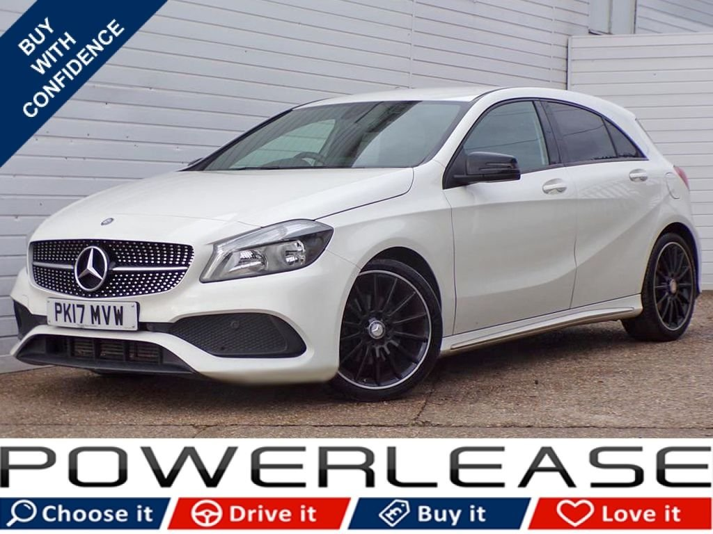 USED 2017 17 MERCEDES-BENZ A CLASS 1.6 A 160 AMG LINE 5d 102 BHP FULL HISTORY REVERSING CAMERA