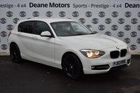 USED 2013 63 BMW 1 SERIES 1.6 116I SPORT 5d 135 BHP BLACK PACK