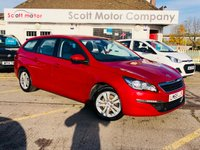 2015 PEUGEOT 308 SW 1.6 HDI Active Estate Diesel £4799.00