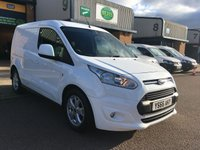 USED 2016 66 FORD TRANSIT CONNECT 1.5 200 LIMITED L1 118 BHP EURO 6, A/C, B/TOOTH, TOP SPEC, 6 MONTHS WARRANTY & FINANCE ARRANGED. ULEZ Compliant, Full Service History - 2 Services - Last service on 31/12/2018 @ 40,057, 3 seats, A/C, Bluetooth, rear parking sensors, cruise control, alloys, heated seat, heated front windscreen, 1 owner, Electric Windows, Electric power folding mirrors, Power Steering, DAB Radio, Remote Central Locking, Side Load Door, full bulk head, spare key, 6 months Premium Autoguard warranty on every van & finance arranged on site