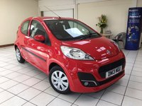 USED 2013 13 PEUGEOT 107 1.0 ACTIVE 5d 68 BHP LOW MILEAGE / ZERO ROAD TAX / AIR CONDITIONING / FRESHLY SERVICED / NEW MOT / 6 MONTHS WARRANTY