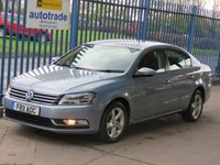 2011 VOLKSWAGEN PASSAT 2.0 S TDI BLUEMOTION TECHNOLOGY 4dr Air con CD player Alloys £6500.00