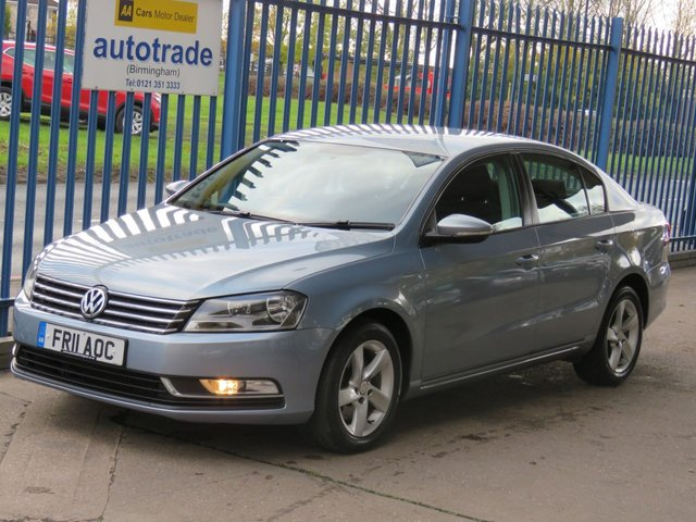 USED 2011 11 VOLKSWAGEN PASSAT 2.0 S TDI BLUEMOTION TECHNOLOGY 4dr Air con CD player Alloys Low Miles Diesel with Service History