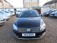 USED 2012 12 VOLKSWAGEN PASSAT 2.0 SE TDI BLUEMOTION TECHNOLOGY 4d 140 BHP NICE  CAR