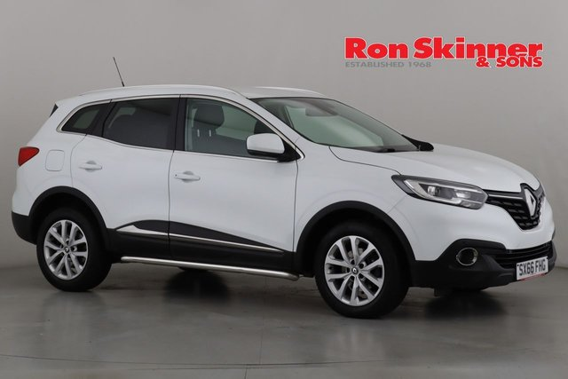View our 2016 66 RENAULT KADJAR 1.6 DYNAMIQUE NAV DCI 5d 130 BHP