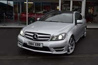 USED 2014 14 MERCEDES-BENZ C-CLASS 2.1 C220 CDI AMG SPORT EDITION PREMIUM PLUS 2d 168 BHP FINANCE TODAY WITH NO DEPOSIT