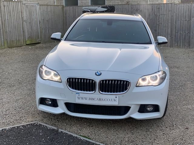 2015 65 BMW 5 SERIES 525D M SPORT TOURING BIG SPEC 215 BHP