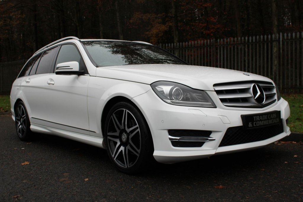 USED 2013 13 MERCEDES-BENZ C-CLASS 2.1 C220 CDI BLUEEFFICIENCY AMG SPORT PLUS 5d 168 BHP A STUNNING CAR WITH GREAT SPECIFICATION AND FULL SERVICE HISTORY!!!