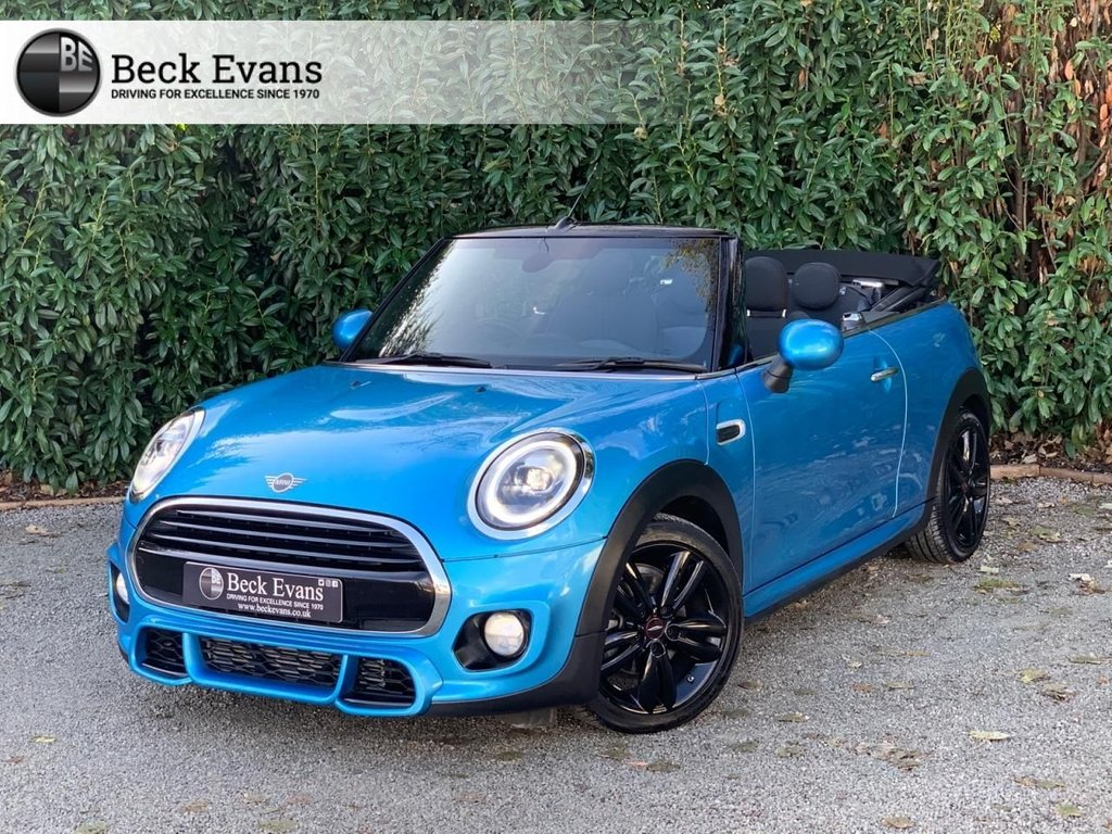 USED 2018 68 MINI CONVERTIBLE 1.5 COOPER JCW SPORTS PACK  2d 134 BHP