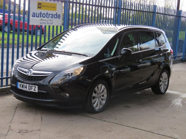 USED 2014 14 VAUXHALL ZAFIRA TOURER 2.0 SE CDTI 5dr Auto 1/2 Leather Cruise DAB Park sensors Privacy Finance arranged Part exchange available Open 7 days