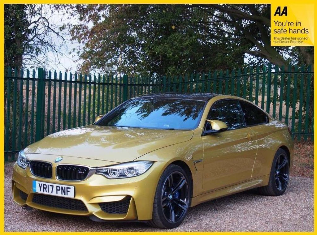 USED 2017 17 BMW M4 3.0 BiTurbo DCT (s/s) 2dr EXCELLENT SPEC