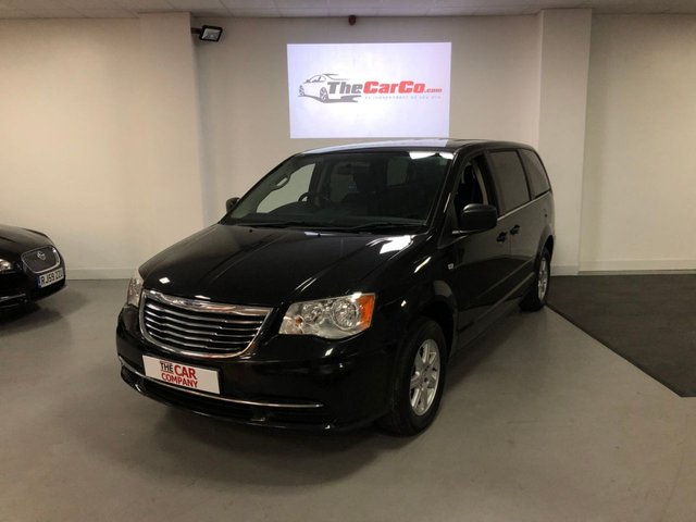 2011 61 CHRYSLER GRAND VOYAGER 2.8 CRD LX 5d 161 BHP