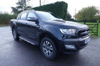 USED 2017 67 FORD RANGER WILDTRAK 4X4 DOUBLE CAB PICK UP AUTOMATIC 3.2 TDCI 200BHP Direct From Leasing Company 27000 Miles FSH & Warranty Till October 2020, Top Of Range Wildtrak Model With Additional Roller Shutter Top, Tow Pack & Front Parking Sensors, Very Clean Example!