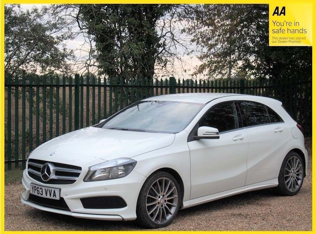 USED 2013 63 MERCEDES-BENZ A-CLASS 2.1 A220 CDI AMG Sport 7G-DCT 5dr **FULL SERVICE HISTORY**