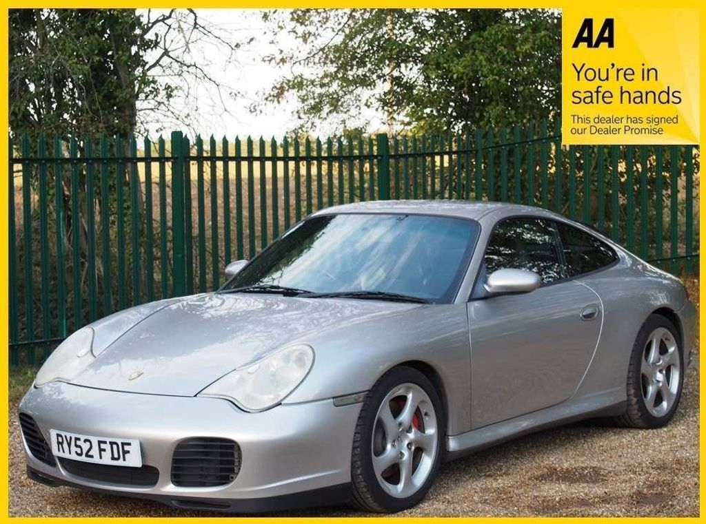 USED 2003 52 PORSCHE 911 3.6 996 Carrera 4S AWD 2dr MAJORY SERVICE DONE, FULL S/H