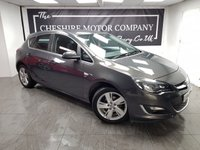 USED 2016 65 VAUXHALL ASTRA 1.4 SRI 5d 98+ 1 FORMER KEEPER + LOW MILES + ALLOYS + A/C