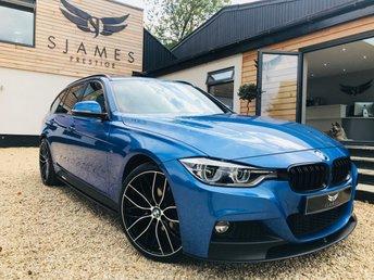 2016 BMW 3 SERIES 3.0 335D XDRIVE M SPORT TOURING 5d 308 BHP £20990.00