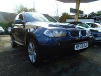 USED 2005 05 BMW X3 2.0 D SPORT 5d 148 BHP
