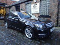 2013 MERCEDES-BENZ C-CLASS 2.1 C220 CDI BLUEEFFICIENCY AMG SPORT 5d 168 BHP £9995.00
