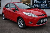 USED 2011 61 FORD FIESTA 1.4 ZETEC 16V 5d 96 BHP 6 Service Stamps, 2 Owners, USB, Aux, Air Conditioning,