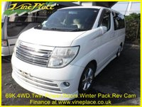 USED 2004 54 NISSAN ELGRAND Rider Autec 3.5 4WD Automatic 8 Seats Full Leather  +69K+4WD+Twin Power Door+