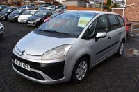 USED 2007 07 CITROEN C4 GRAND PICASSO 1.6 SX HDI 5d 110 BHP 101,000 GUARANTEED MILES - LOTS OF SERVICE HISTORY - LONG MOT TEST - DIESEL