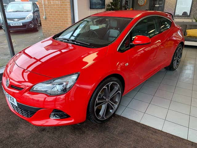 USED 2016 16 VAUXHALL ASTRA 1.4 GTC LIMITED EDITION S/S 3d 118 BHP **1 OWNER+SUPPLYING DEALER**