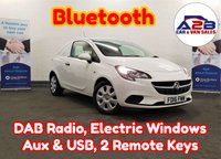 2016 VAUXHALL CORSA 1.3 CDTI in White with Bluetooth, DAB Radio, Full Vauxhall Service History (3 Stamps), Electric Windows & Mirrors and more £4480.00