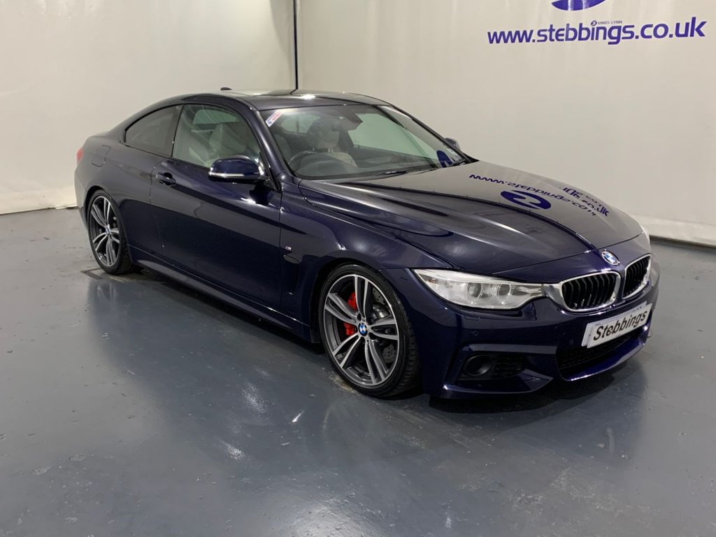 USED 2015 15 BMW 4 SERIES 3.0 435D XDRIVE M SPORT 2d 309 BHP