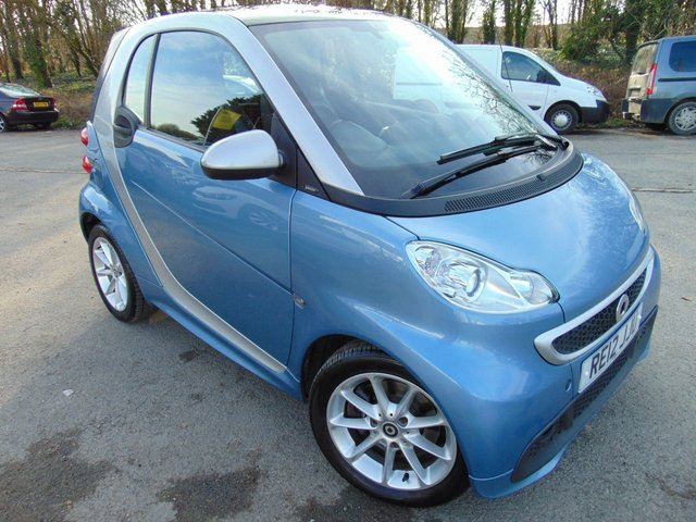 2012 12 SMART FORTWO COUPE 1.0 PASSION MHD 2d 71 BHP