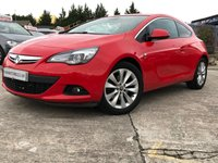 USED 2014 14 VAUXHALL ASTRA GTC 1.7 GTC SRI CDTI S/S 3d 108BHP PARKING+30ROADTAX+4KEEPERS+MEDIA+PRIVGLASS+18ALLOYS+AIRCON+AUX+