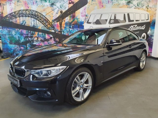 USED 2016 16 BMW 4 SERIES 2.0 420D XDRIVE M SPORT 2d 188 BHP