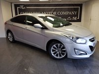 2015 HYUNDAI I40 1.7 CRDI STYLE 4d + 1 FORMER KEEPER + SAT NAV £7775.00