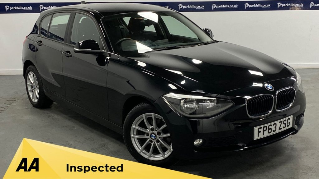 USED 2014 63 BMW 1 SERIES 1.6 114D SE 5d 95 BHP (AIR CON AND ALLOYS)
