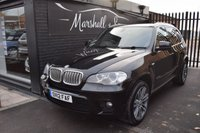 USED 2012 12 BMW X5 3.0 XDRIVE40D M SPORT 5d 302 BHP RARE 40D M SPORT 306BHP - ONE PREVIOUS KEEPER - 7 BMW STAMPS TO 80K MILES - LEATHER - NAV - REVERSE CAMERA - DETACHABLE TOWBAR