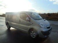 USED 2011 61 VAUXHALL VIVARO 2.0 2900 CDTI SPORTIVE 113 BHP LOW MILES BRAND NEW PLY LINE