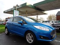 USED 2014 63 FORD FIESTA 1.2 ZETEC 3d 81 BHP 6 MAIN DEALER SERVICES