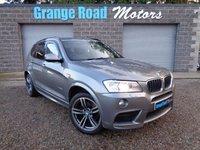 2014 BMW X3 2.0 XDRIVE20D M SPORT 5d 181 BHP £14250.00