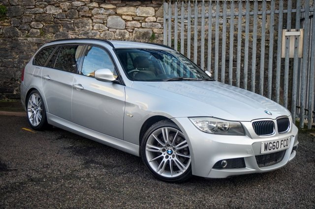 USED 2010 60 BMW 3 SERIES 2.0 320D M SPORT BUSINESS EDITION TOURING 5d 181 BHP