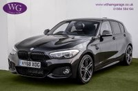 2018 BMW 1 SERIES 2.0 118D M SPORT SHADOW EDITION 5d 147 BHP £18995.00