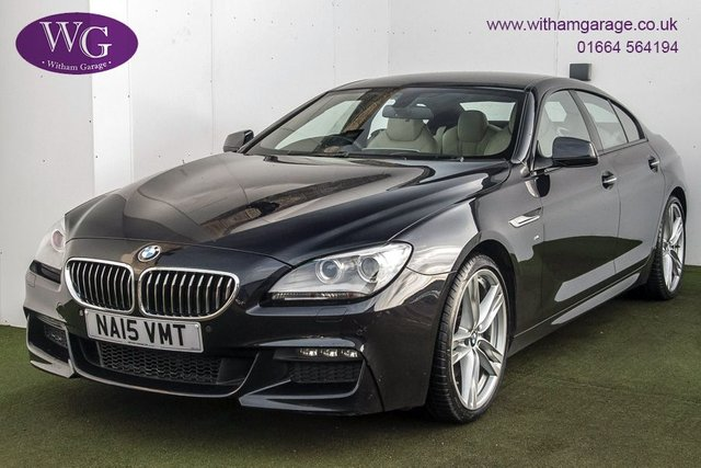 USED 2015 15 BMW 6 SERIES 3.0 640D M SPORT GRAN COUPE 4d 309 BHP