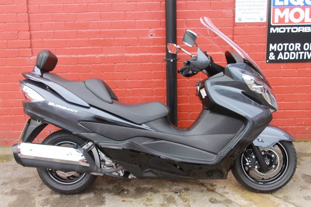 USED 2013 13 SUZUKI AN 400 BURGMAN ZA L2  A Stunning Low Mileage Example. Finance Available.
