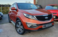 USED 2015 64 KIA SPORTAGE 1.7 CRDI 3 ISG 5d 114 BHP 4 Services - New Clutch - Local Car - Huge Specification