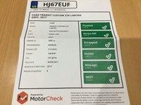 USED 2017 67 FORD TRANSIT CUSTOM 2.0 270 LIMITED LR P/V 129 BHP HIGH SPEC, EURO 6,