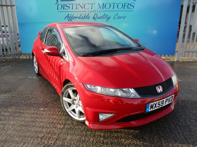 USED 2009 59 HONDA CIVIC 2.0 I-VTEC TYPE-R GT 3d 198 BHP