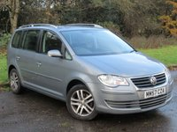 USED 2008 57 VOLKSWAGEN TOURAN 2.0 SE TDI 5d 138 BHP * 12 MONTHS BREAKDOWN COVER *