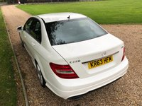 USED 2013 63 MERCEDES-BENZ C-CLASS 2.1 C220 CDI BLUEEFFICIENCY AMG SPORT 4d 168 BHP 2 OWNER, STUNNING CAR